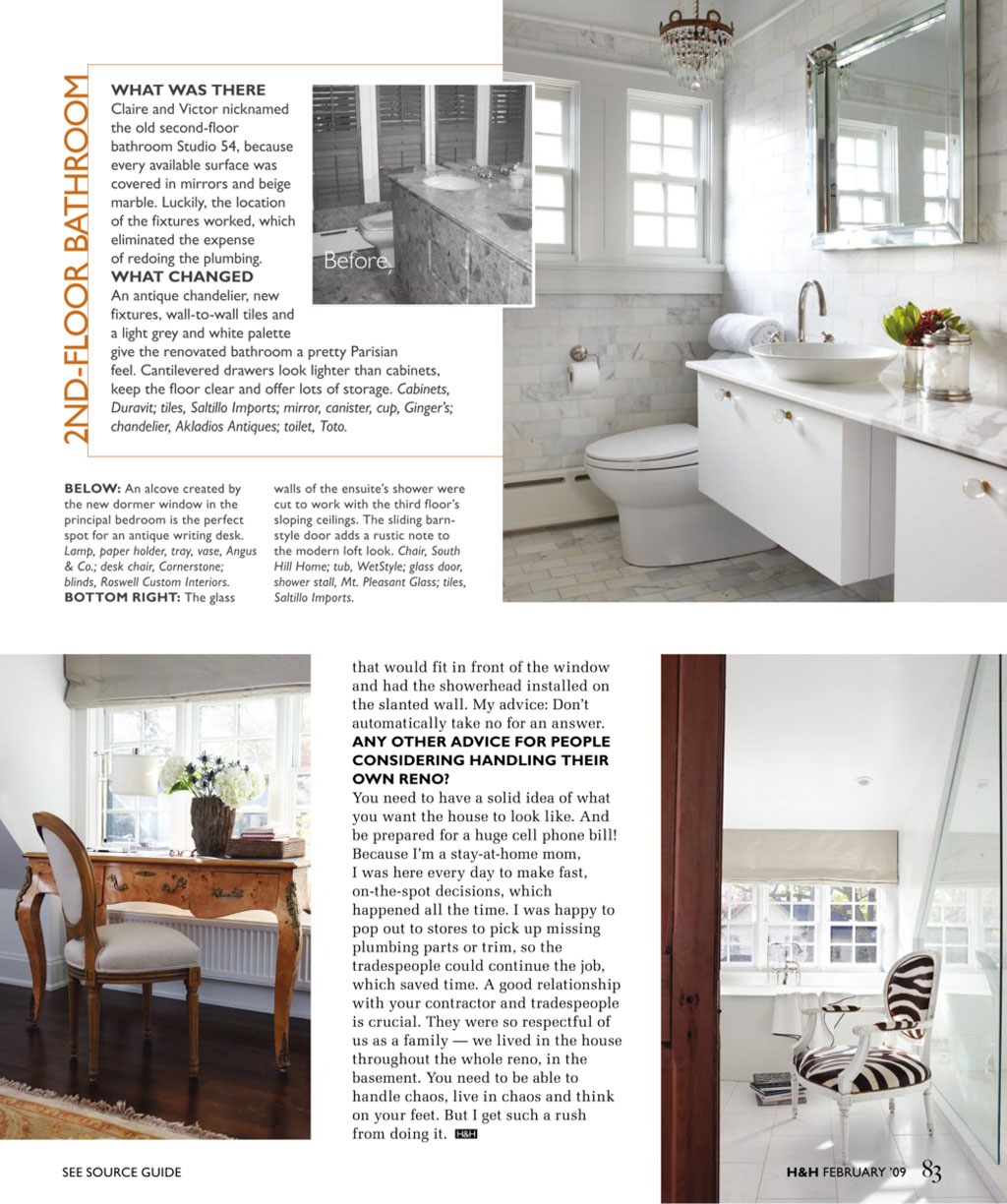 House and Homes Magazine Feature | Burke\'s Restoration